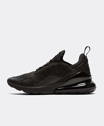 nike black trainers mens